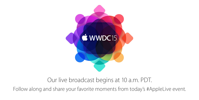 Apple live event WWDC15